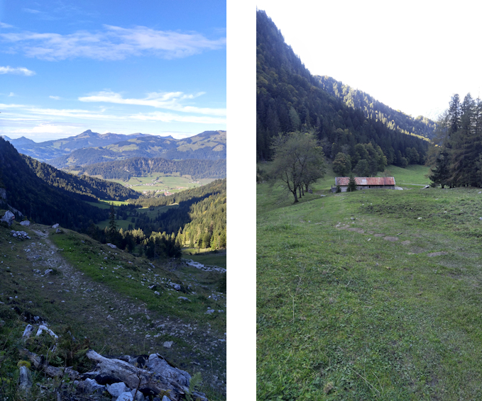 Winkelkar im Zahmer Kaiser Gebirge