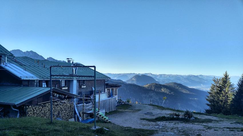 Vorderkaiserfelden Hütte am Zahmer Kaiser