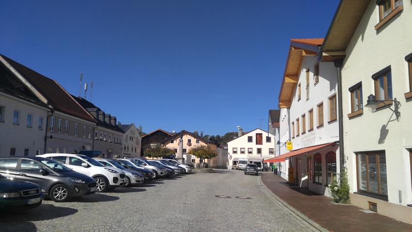 Gars am Inn Marktplatz
