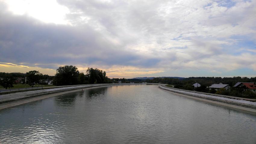Innwerkkanal bei Kraiburg