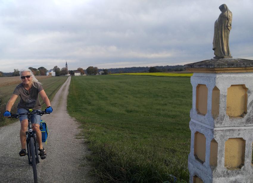 Innradweg bei Ebing