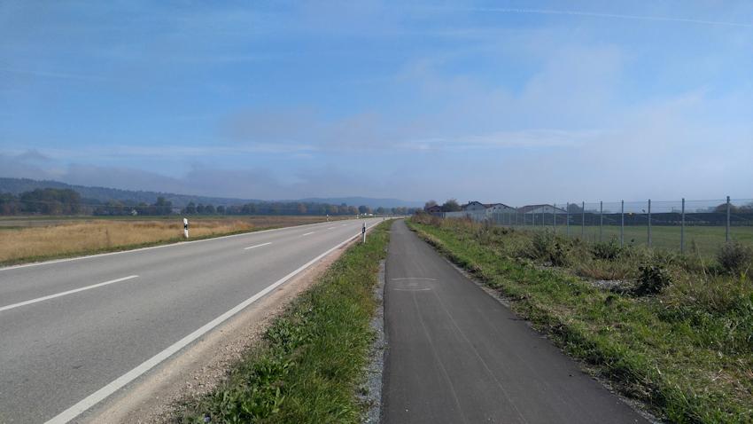 Radweg von Mühldorf nach Steinhöring
