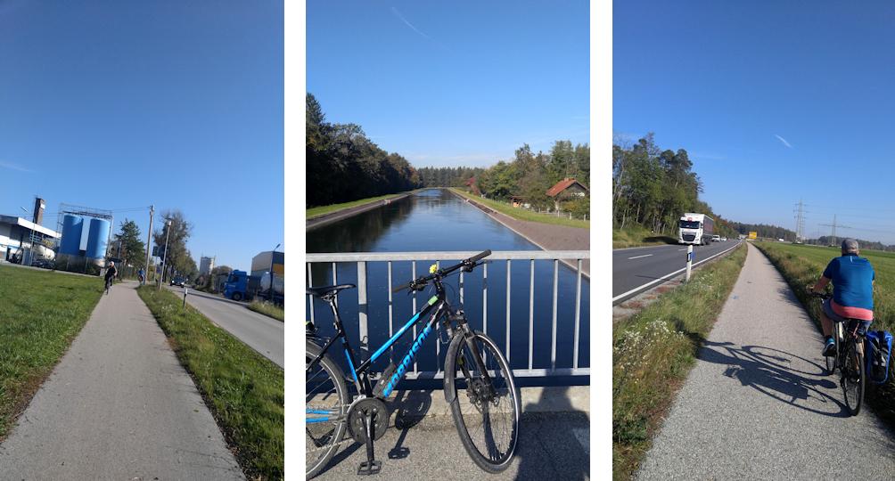 Radweg von Altötting nach Burghausen