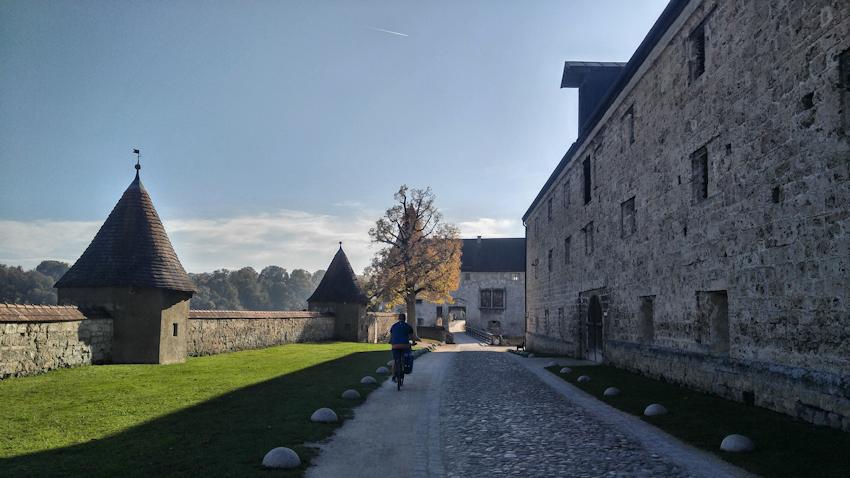 Burghausen, die längste Burg der Welt