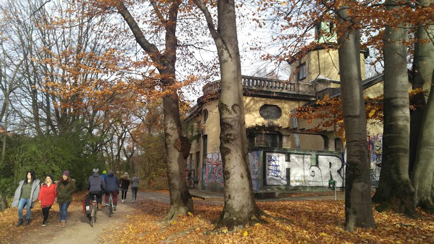 Isarradweg in München