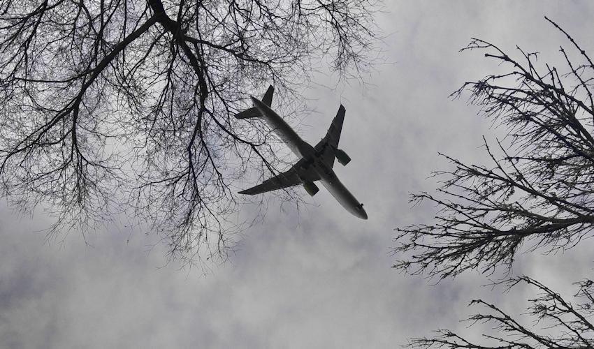 Flugverkehr nahe MUC