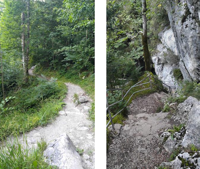 Weg zum Tatzelwurm Wasserfall