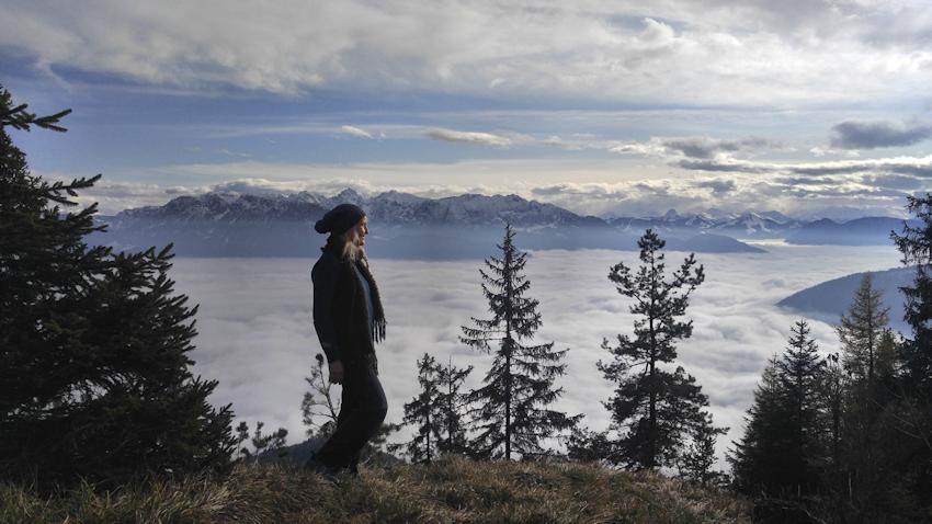 Gipfel Wildbarren Südseite