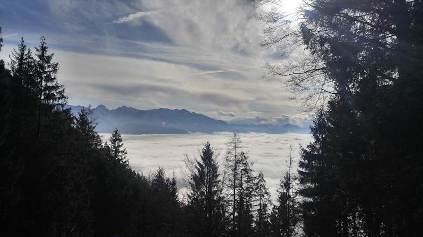Blick nach Süden von der Felix Alpe