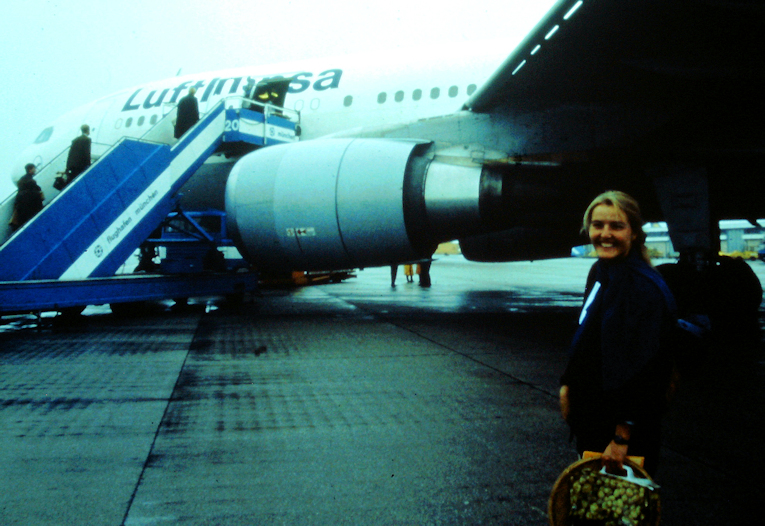Mein erster Flug geht nach Kairo