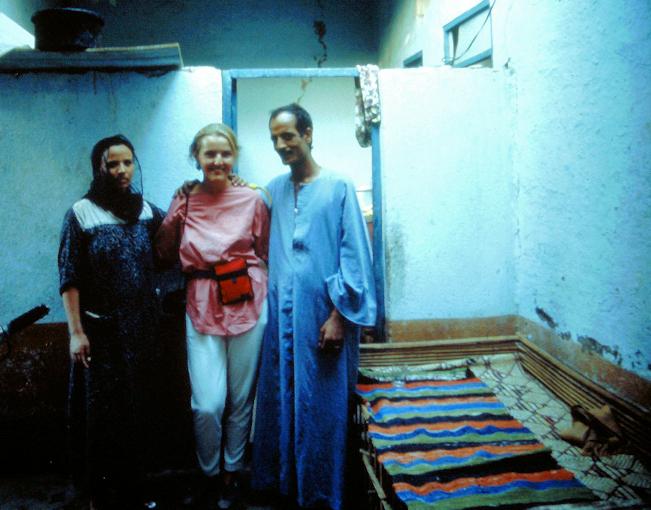 Besuch bei Einheimischen
