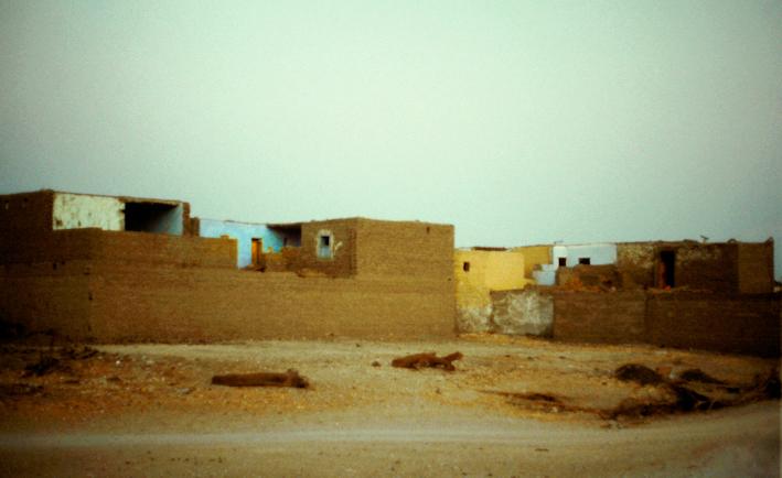 Ägyptisches Dorf