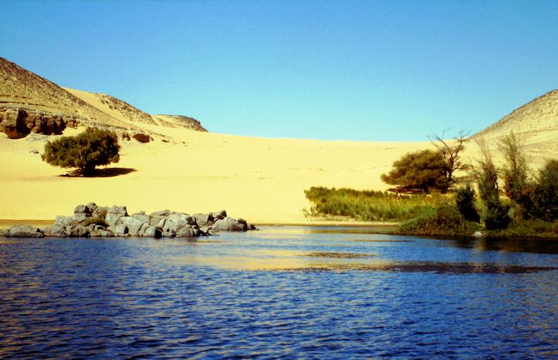 wunderschöne Felukka Fahrt auf dem Nil