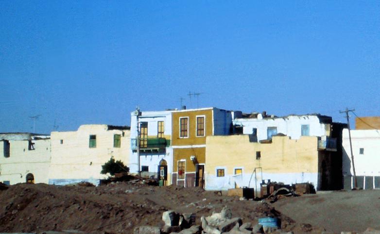 das Nubische Dorf auf Elephantine