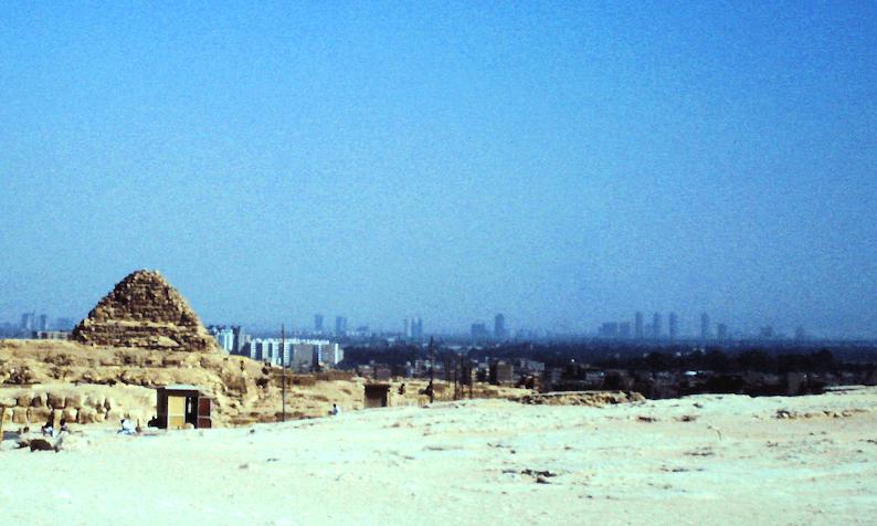 Kairo von den Pyramiden aus
