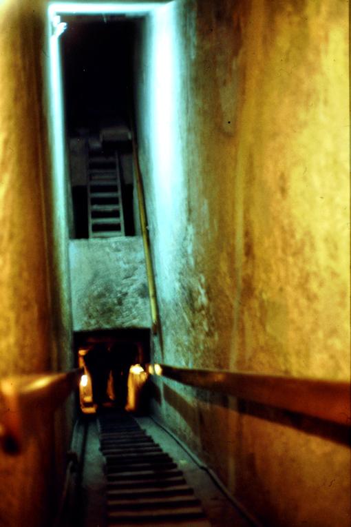 In der Chephren Pyramide