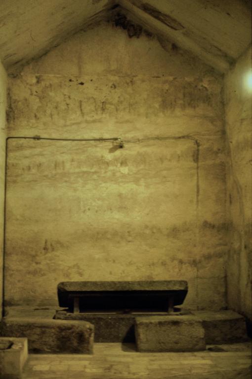 Grabkammer in der Chephren Pyramide