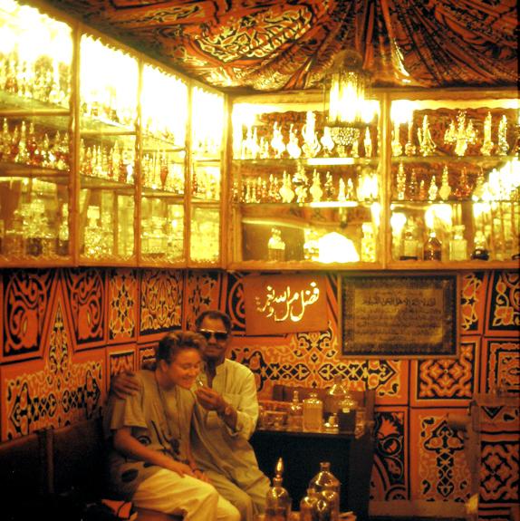 Parfummanufaktur in Ägypten