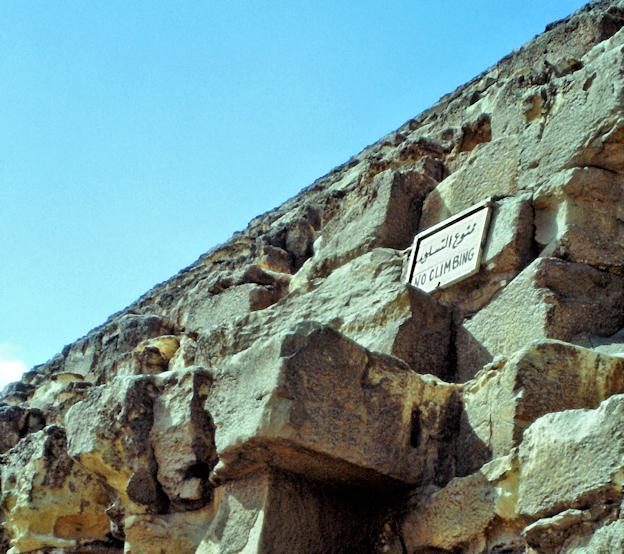 An der Cheopspyramide