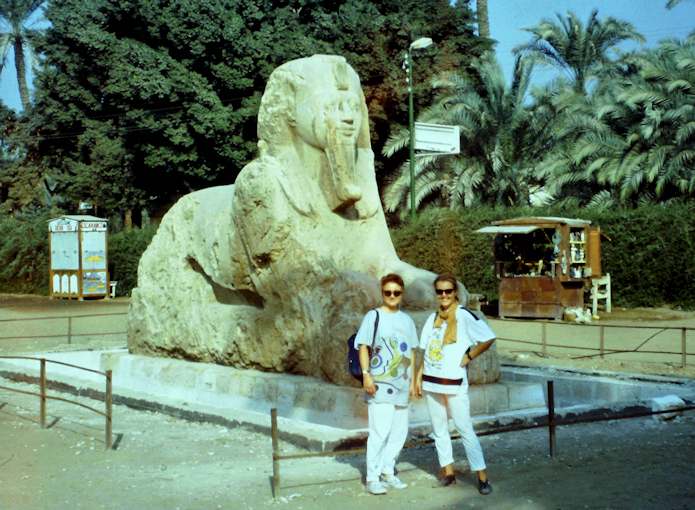 Alabaster Sphinx von Memphis