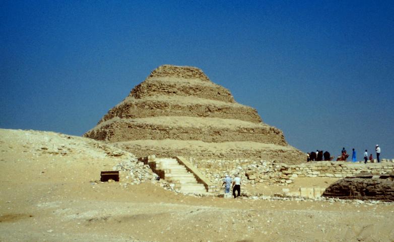 Stufenpyramide des Djoser von Sakkara