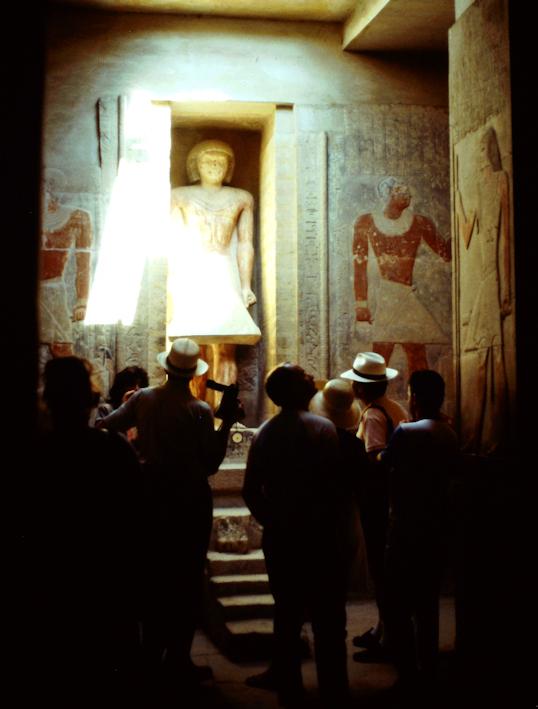 Mastaba des Ti in Sakkara