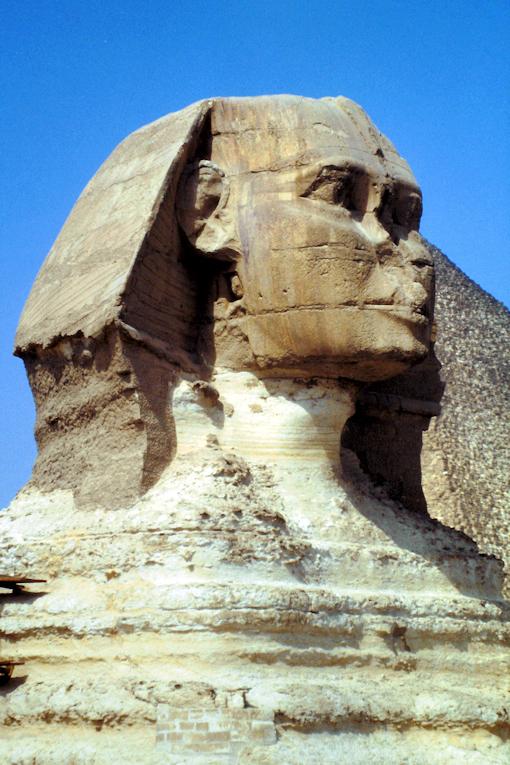 Die hübsche Sphinx