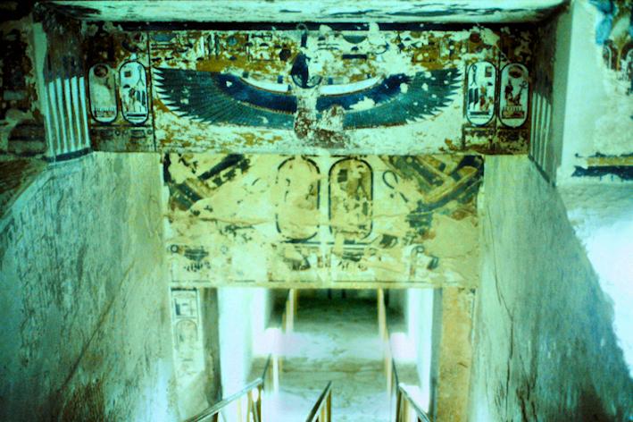In einem Grab im Tal der Könige, Ägypten