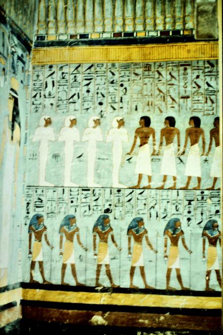 In einem Pharaonengrab im Tal der Könige