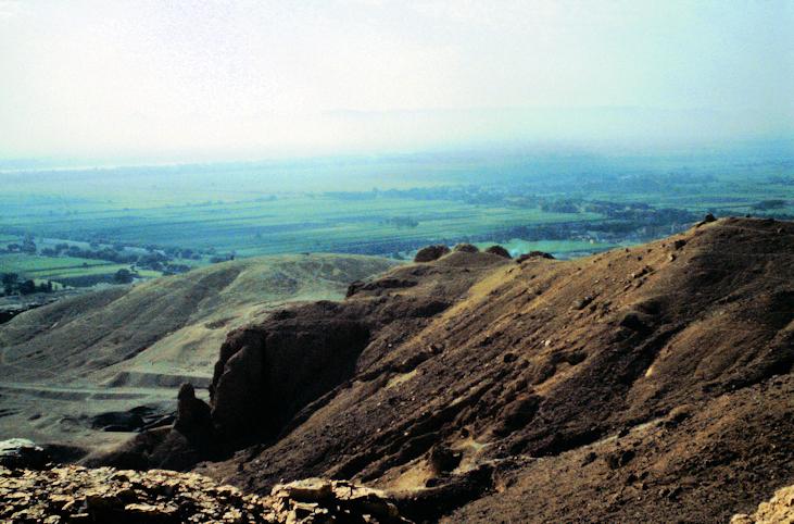 Blick in die Nil-Ebene