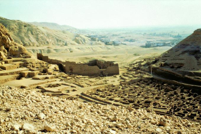 Siedlung von Deir El Medina