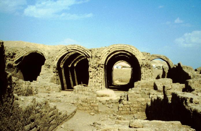 das Ramesseum von Theben