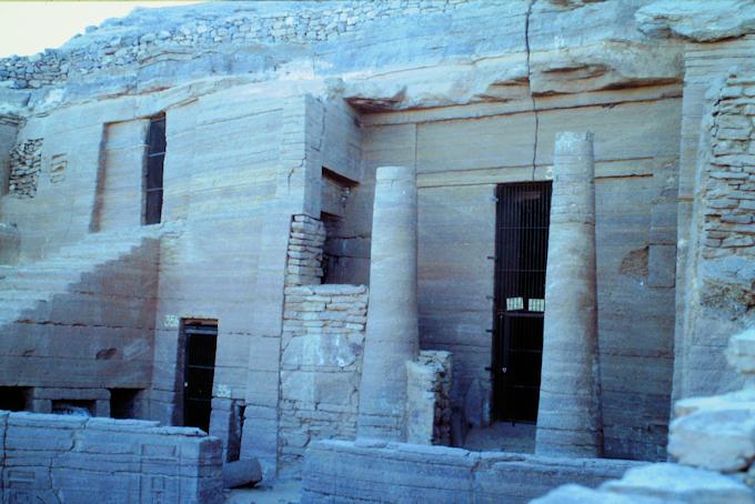 Felsengräber von Qubbet el-Hawa
