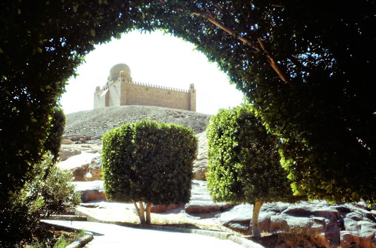 Das Mausoleum des Agha Khan
