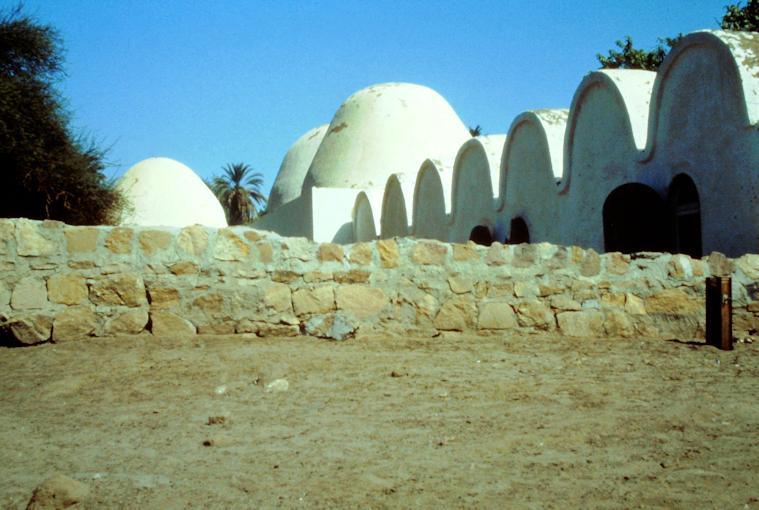 Das Grabungshaus des DAI auf Elephantine