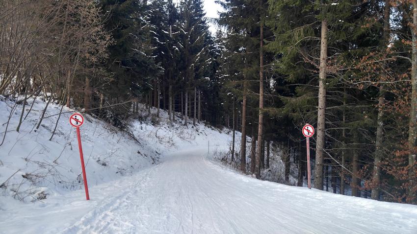 Winterwanderung mit Rodel: Aschinger Alm zu Füßen des Kaisers