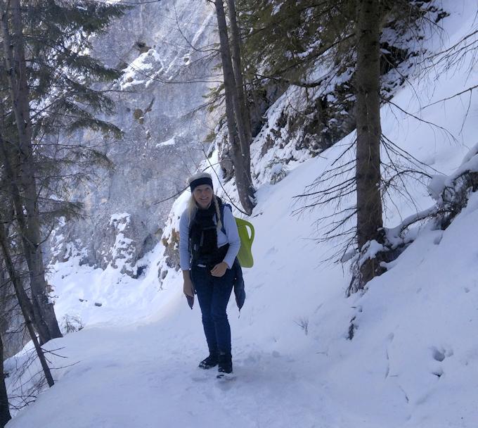 Bergsteig zum Pendling