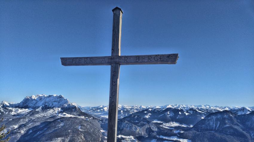 Gipfel des Pendling
