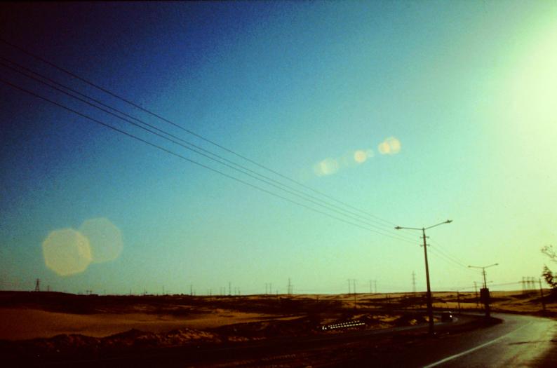 Fahrt durch die Libysche Wüste