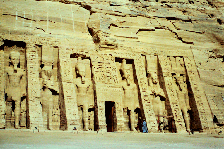 Tempel der Nefertari in Abu Simbel