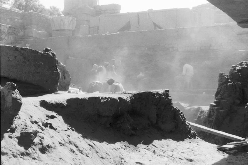 Archäologische Grabung auf Elephantine