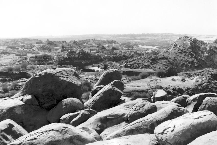 Aussicht über den ersten Katarakt des Nil
