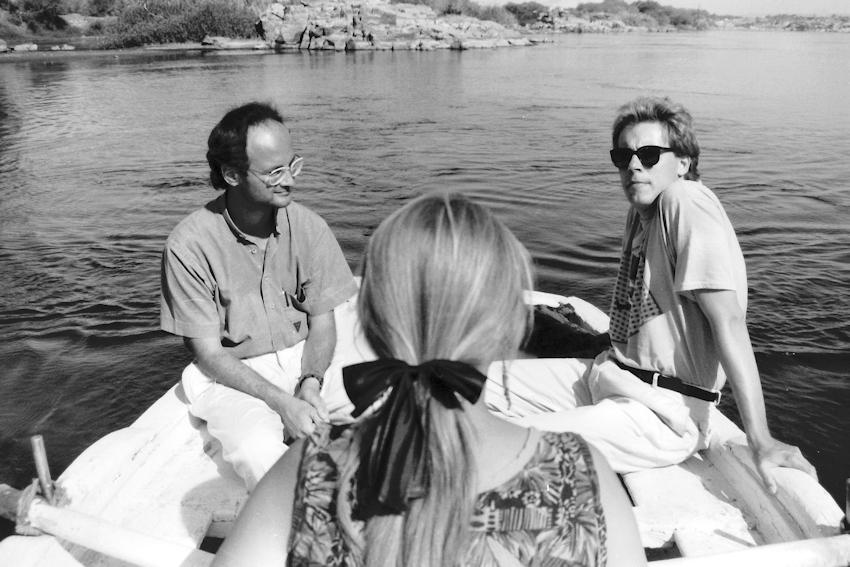 Im Ruderboot zur Insel Sehel