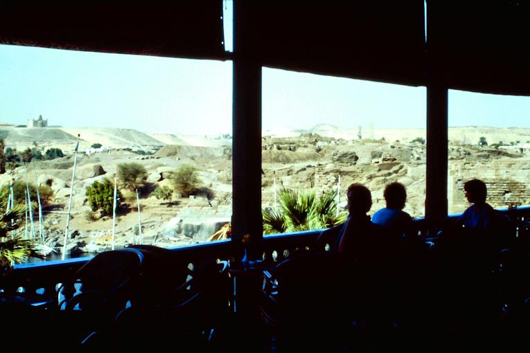 Auf der Terrasse des Old Cataract