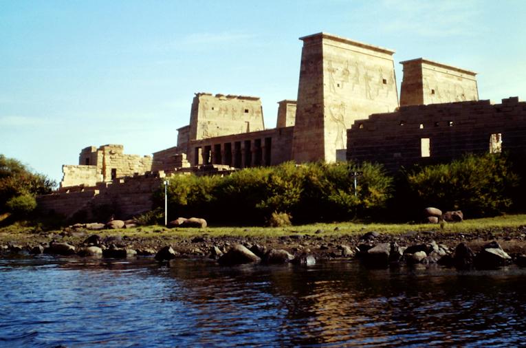 Isis-Tempel auf der Insel Philae