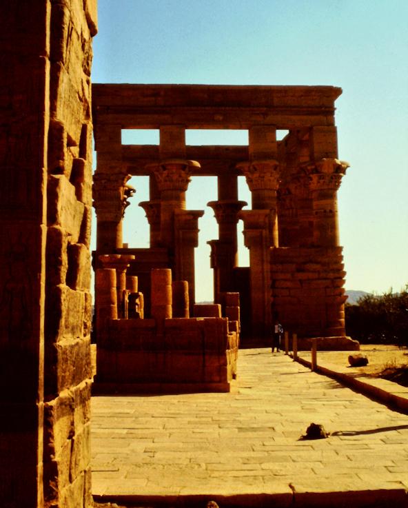 Trajans Kiosk des Augustus auf Philae