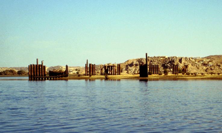 Reste der versunkenen Insel