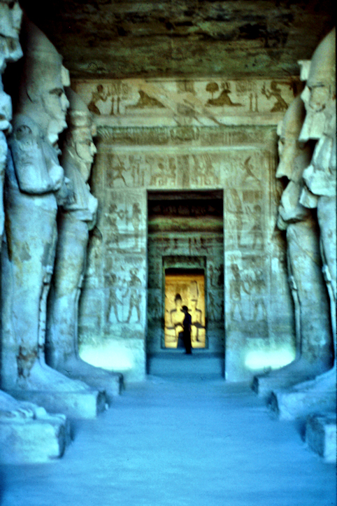Felsentempel in Abu Simbel