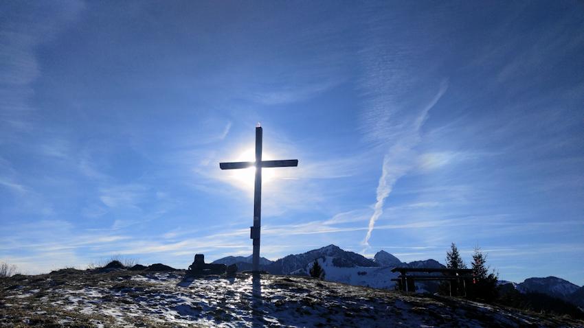 Gipfelkreuz des Sulzberg