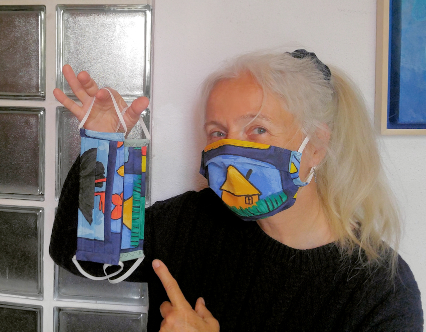 DIY: Corona Maske selber nähen